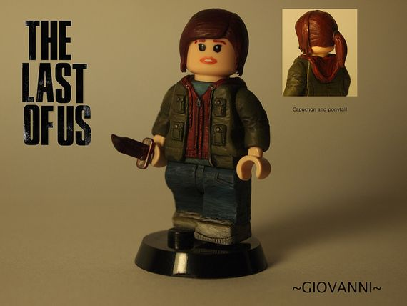 The Last Of Us Ellie Custom Minifigure