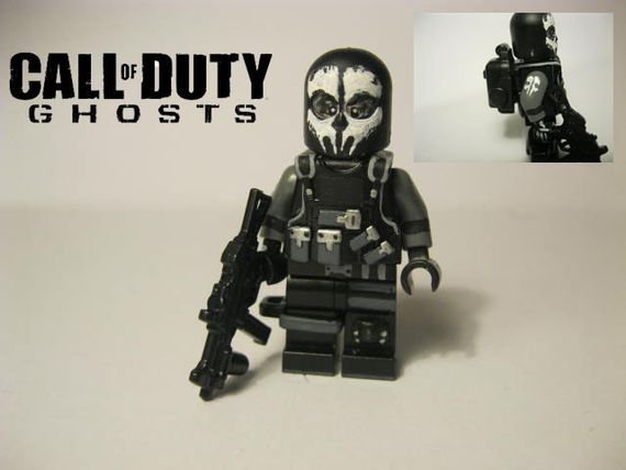 Call Of Duty Ghosts Logan Walker Custom Minifigure