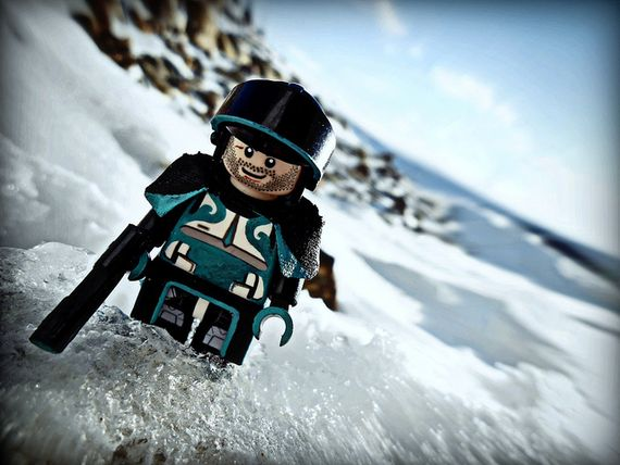 Glacier Guard Custom Minifigure
