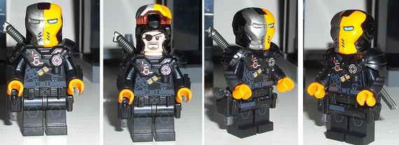 TV Arrow DeathStroke Custom Minifigure