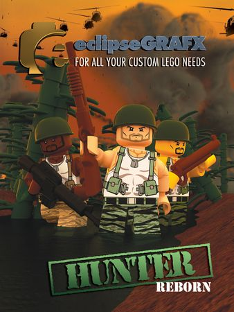 eclipseGrafx Hunter Redux Minifigures
