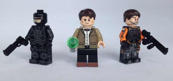 Brick Moc March 14 Custom Minifigures