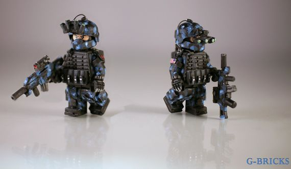 Future Spec Ops Custom Minifigure