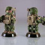 Future Trooper Q-Warrior Headset Custom Minifigure