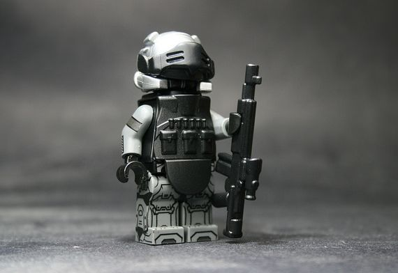 Juggernaut Custom Minifigure