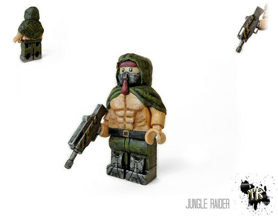 Jungle Raider Custom Minifigure
