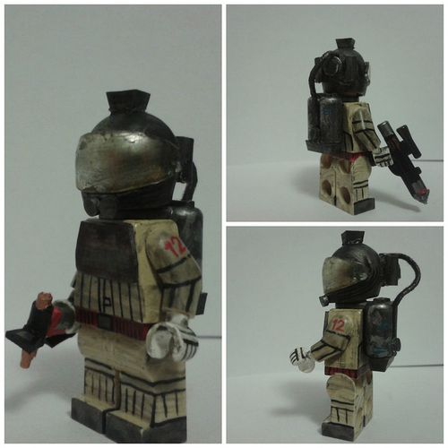 Nostromo Spacesuit Custom Minifigure