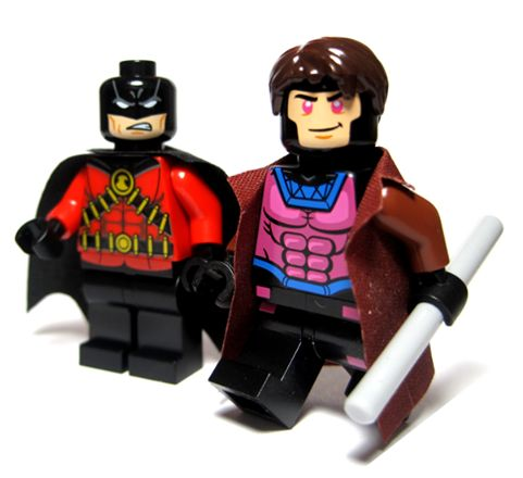 MARVEL LEGO minifig - X-MEN Gambit: A LEGO® creation by Optimus ...