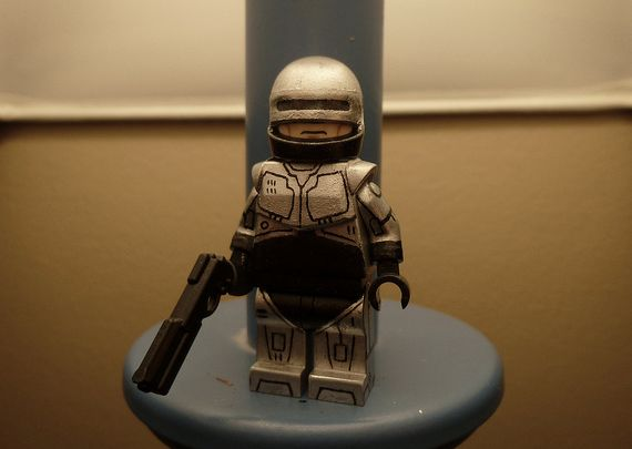 Robocop 1987 Custom Minifigure