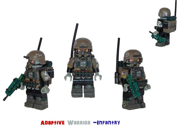 Adaptive Warrior Infantry Custom Minifigure