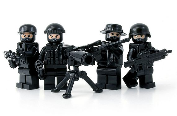 Black Ops Infiltration Team Custom Minifigures