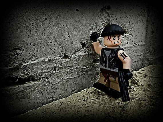 Detroit Rock City Custom Minifigure