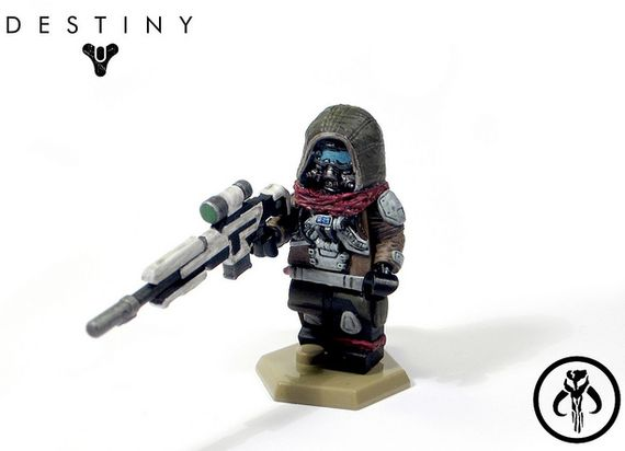 Hunter Of Faith Custom Minifigure