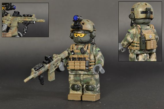 Polish GROM Custom Minifigure
