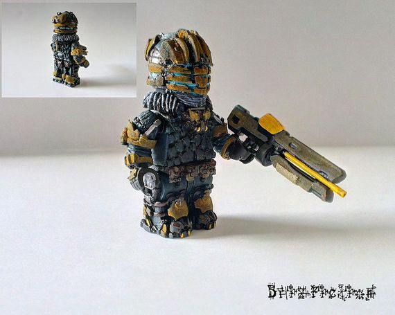 Space Veteran Custom Minifigure
