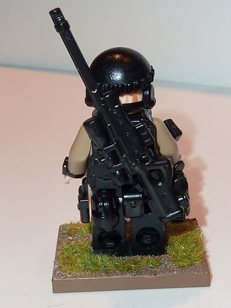 Special Forces Custom Minifigure Back