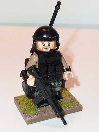 Special Forces Custom Minifigure Front