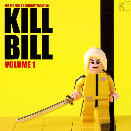 Kill Bill Custom Minifigure