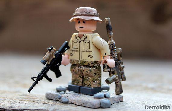 Marine Scout Sniper Custom Minifigure