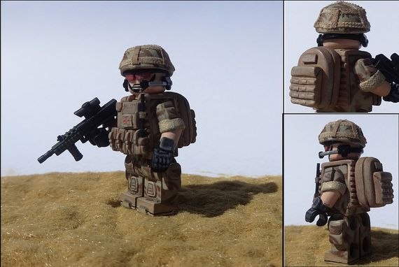 Modern British Infantry Custom Minifigure