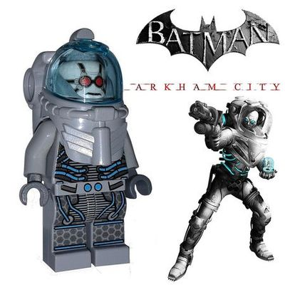 Mr Freeze Arkham City Custom Minifigure