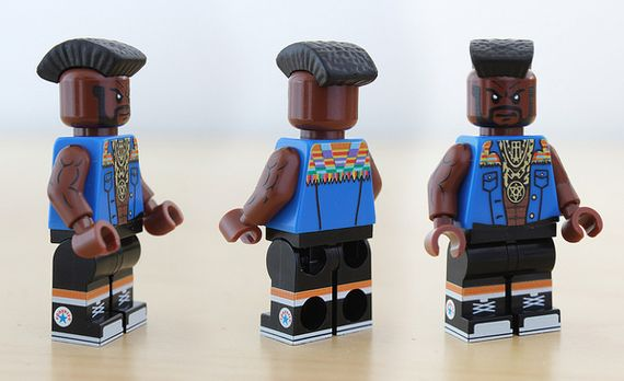 Mr T Custom Minifigure
