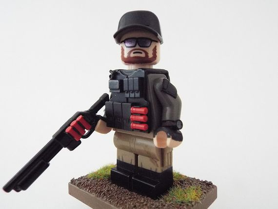 PMC Tiny Tactical Custom Minifigure
