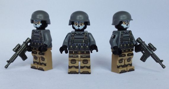 PsyOps Support eclipseGrafx Custom Minifigures