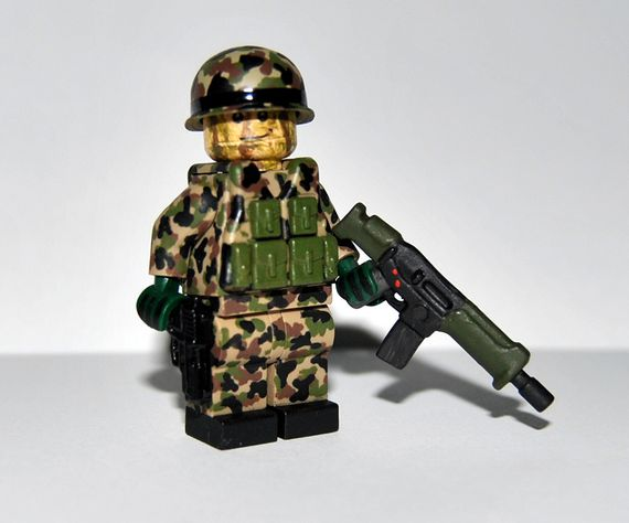 Swiss Infantry Custom Minifigure