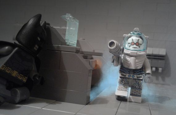 Mr Freeze - You are in my world now Batman!