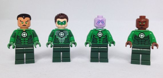 Christo's Green Lantern Corps Custom Minifigures