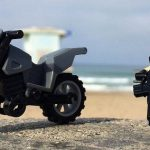 Dirt Bike Patrol Custom Minifigure