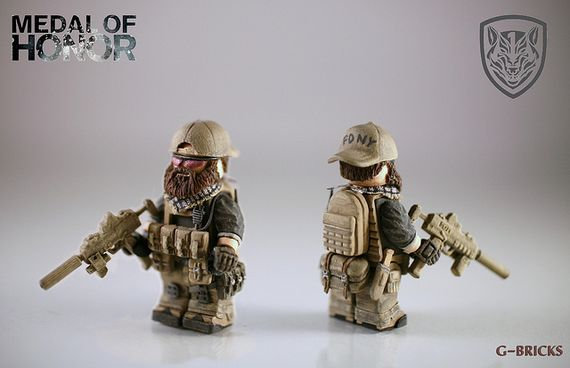 Medal Of Honor Dusty Custom Minifigure