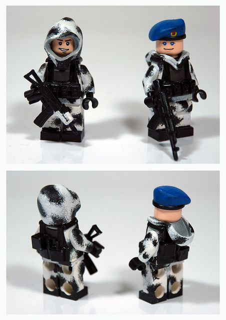 VDV Winter Military Custom Minifigure