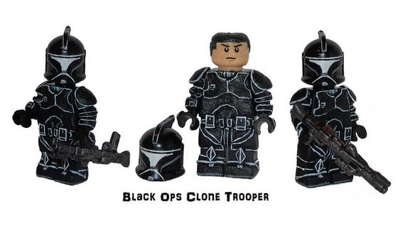 Black Ops Clone Trooper Custom Minifigure