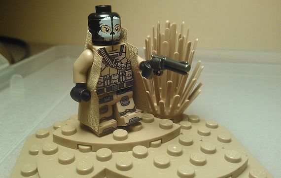 Desert Ghost Custom Minifigure