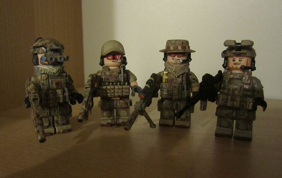 G-Bricks Navy Seal Custom Minifigures