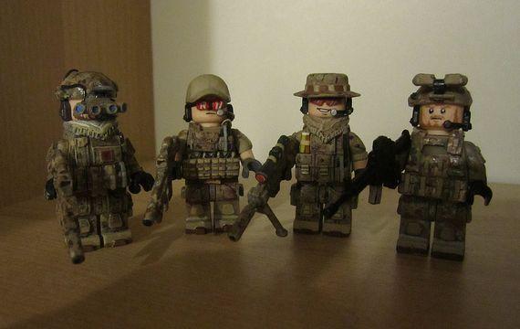Lego Custom Navy Seals G-bricks Navy Seal Custom