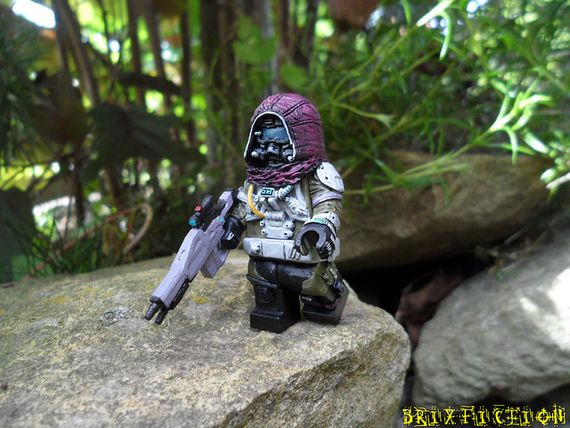 Galactic Sniper Custom Minifigure