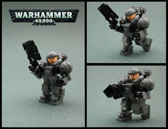 Warhammer 40k Marine Hardsuit