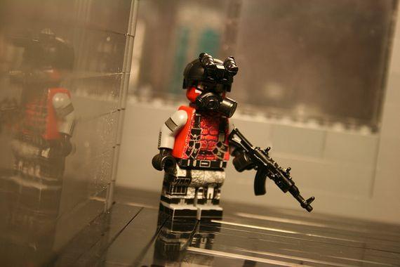 Wolverine Infantry Custom Minifigure