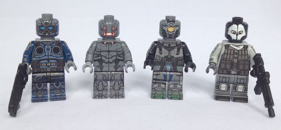 BrickUltra Custom Minifigures Wave 1