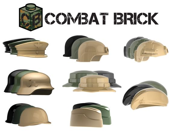 CombatBrick Head Gear