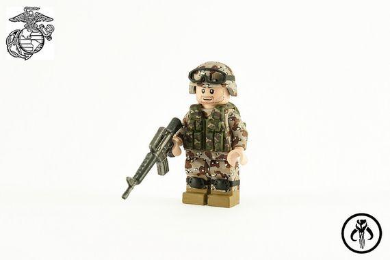 Desert Storm Custom Minifigure