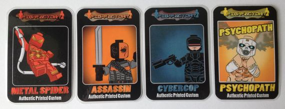Fig Factory Collectors Cards Wave 1