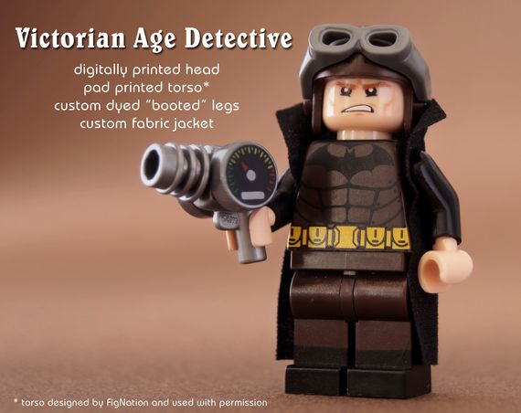 Victorian Batman Custom Minifigure