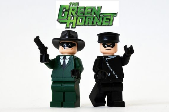 Green Hornet and Kato Custom Minifigures