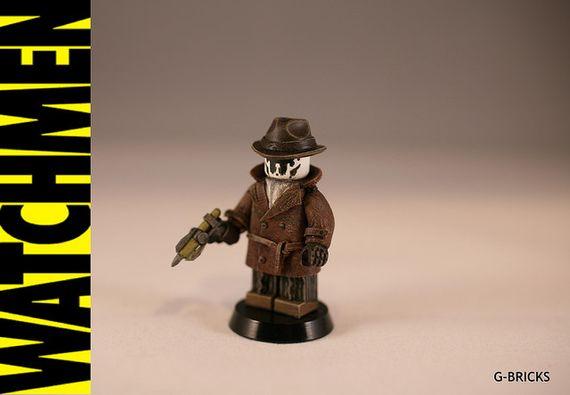 Watchman Rorschach Custom Minifigure
