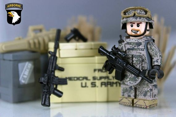 Airbourne Combat Custom Minifigure