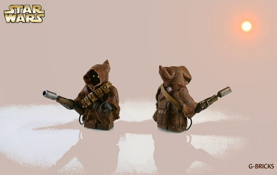 LEGO Star Wars Jawa Custom Minifigure